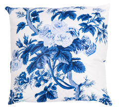 Pyne Hollyhock Indigo Pillow
