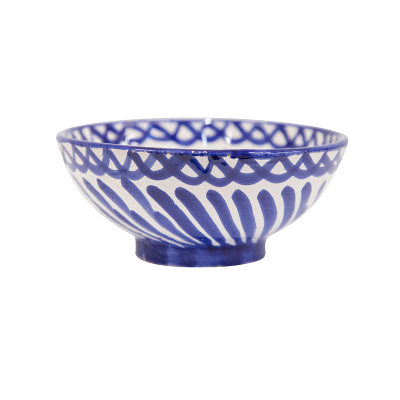 Small Hand-Painted Azul Dish