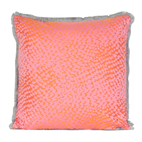 Dahlia Tangerine Pillow
