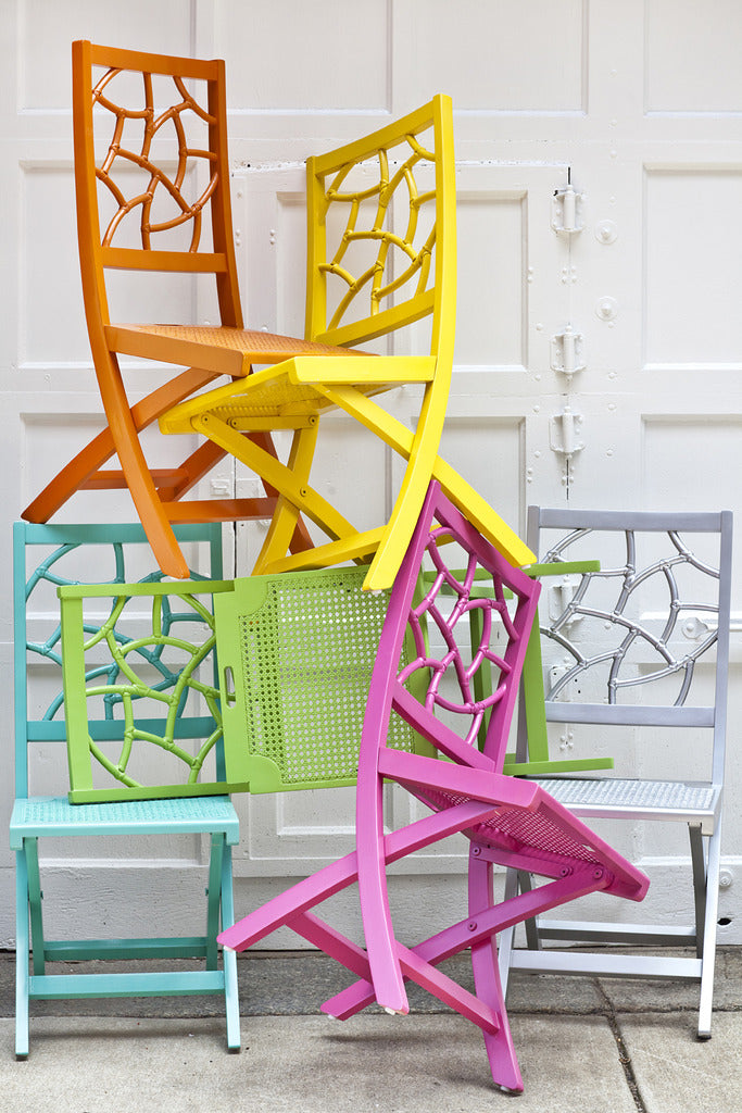 The Fifi Folding ChairThe Fifi Folding Chair   Society Social of Decorative Folding Chairs