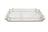 Beveled Mirror Vanity Tray