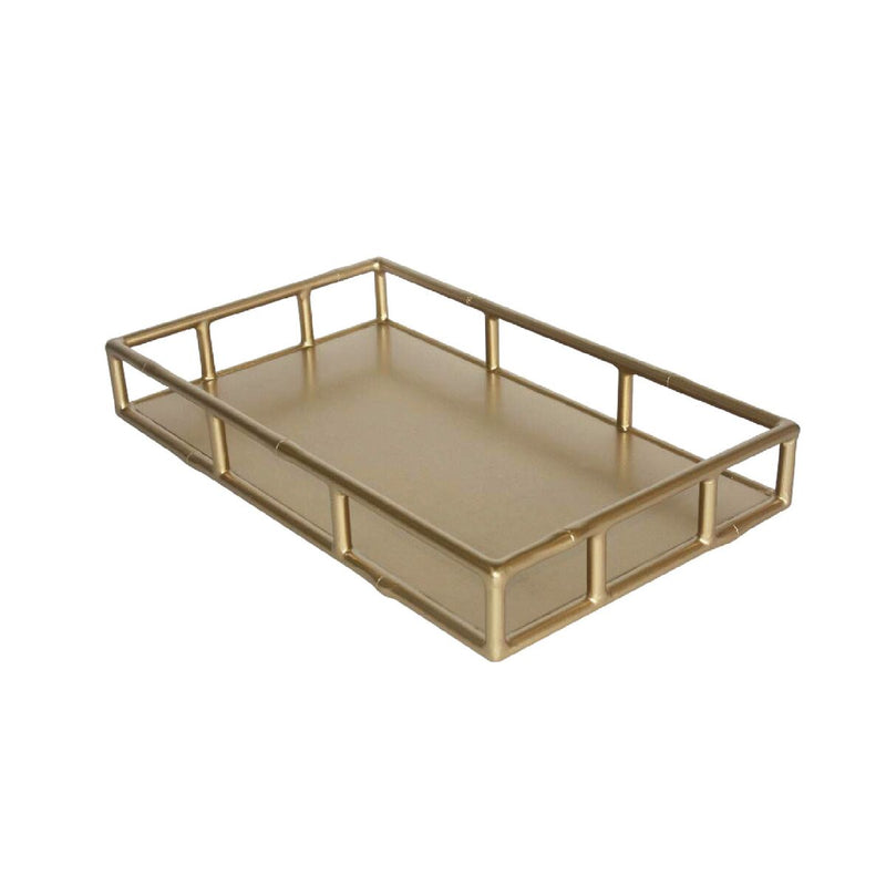 Faux Bamboo Tray - Rectangular
