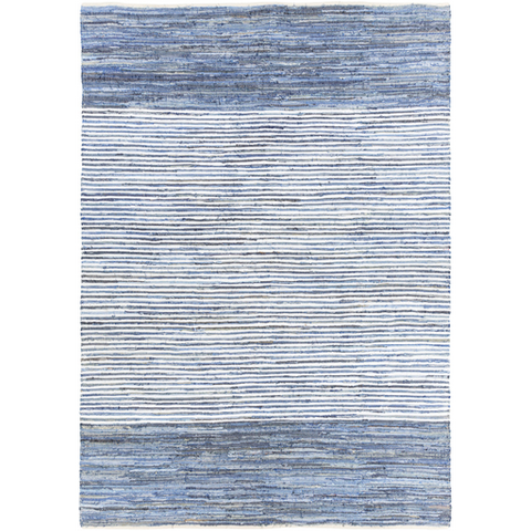 Beach Blues Faded Rug