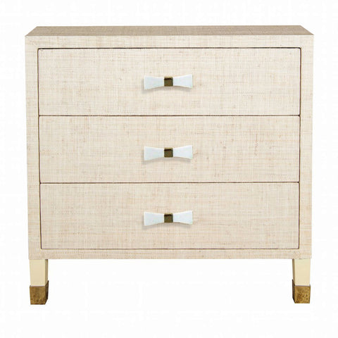 Carmen Nightstand - Natural (Bow Pulls)