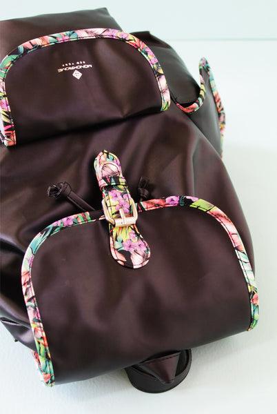 Tropical Piping Backpack - Monokrome New York