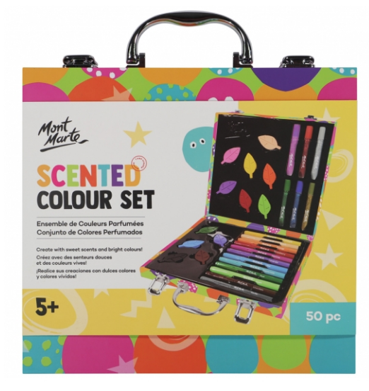 Scented Colouring Set 50pc-Mont Marte-Bristle by Melissa Simmonds