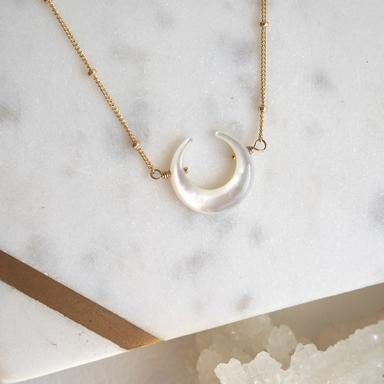 New Moon Necklace - Sky Bound