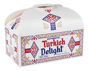 Real Turkish Delight Treasure Chest - Rose