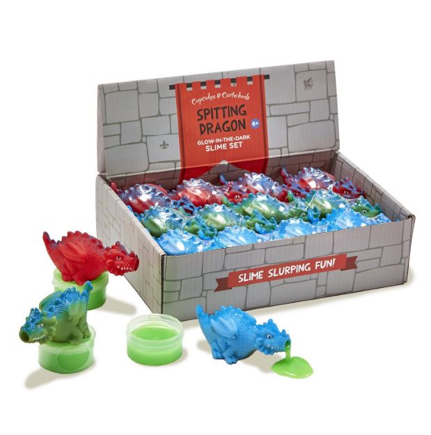 Dragon Spitting Slime-Novelty-Outliving-Bristle by Melissa Simmonds
