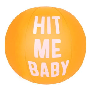 Beach Ball - Hit me Baby-Sunnylife-Bristle by Melissa Simmonds