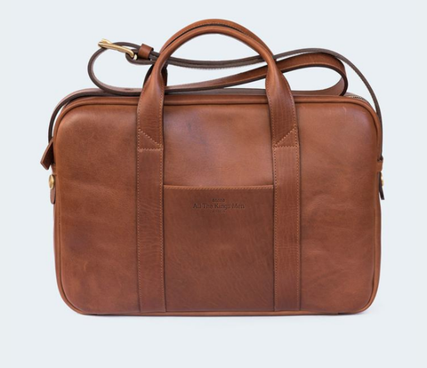 Leather Briefcase 15""