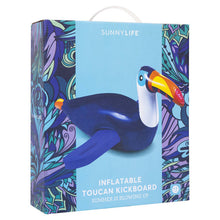 Load image into Gallery viewer, Inflatable Kickboard Toucan-Outliving-Bristle by Melissa Simmonds