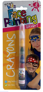 Kids Face Painting Crayons - Bright-Mont Marte-Bristle by Melissa Simmonds