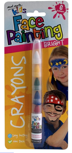 Kids Face Painting Crayons - Bright