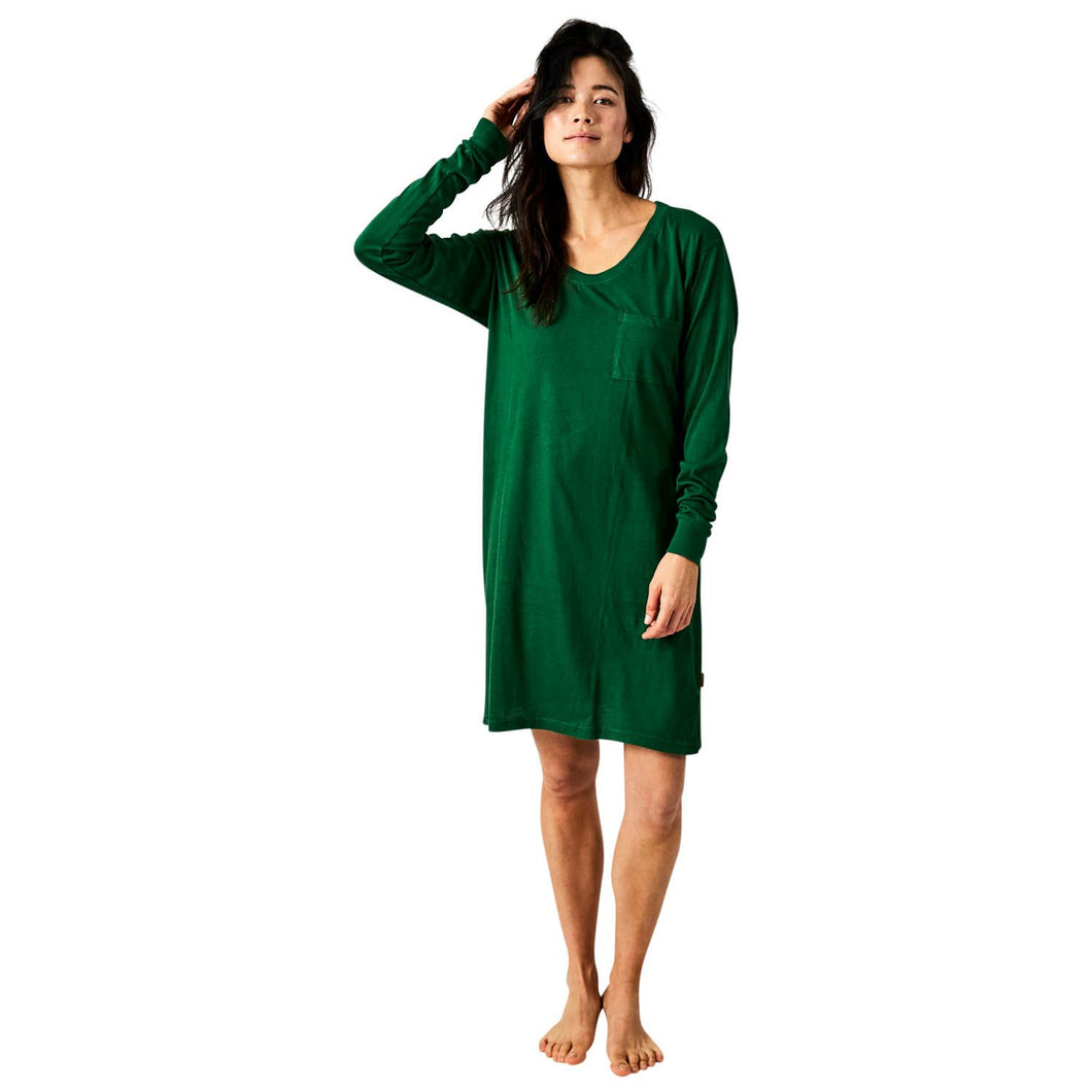 Kale Long Sleeve Nightie-Kip & Co-Bristle by Melissa Simmonds