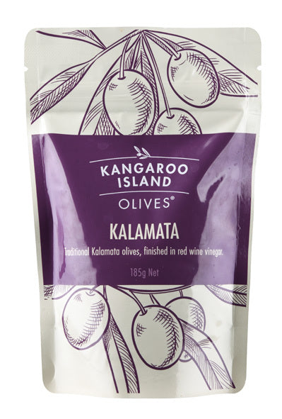 Whole Kalamata Olives 185g