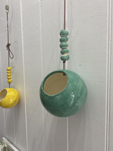 Pottery Hanging Pot-Home Decor-BGPottery-Bristle by Melissa Simmonds
