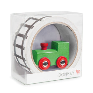 Tape Gallery - My First Train-Donkey-Bristle by Melissa Simmonds