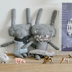 Lola Rabbit-General-And The Little Dog Laughed-Bristle by Melissa Simmonds