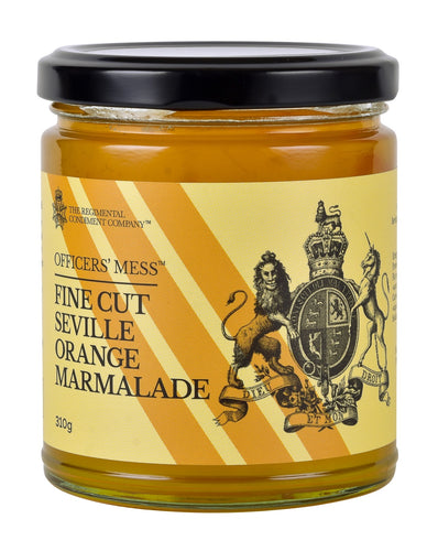 Fine Cut Seville Orange Marmalade 220g-The Regimental Condiment Company-Bristle by Melissa Simmonds