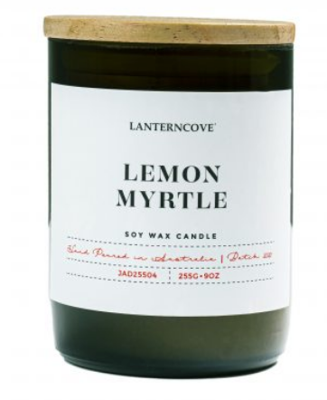 Jade Soy Wax Candle - Lemon Myrtle