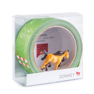 Tape Gallery - Horse Show-Donkey-Bristle by Melissa Simmonds