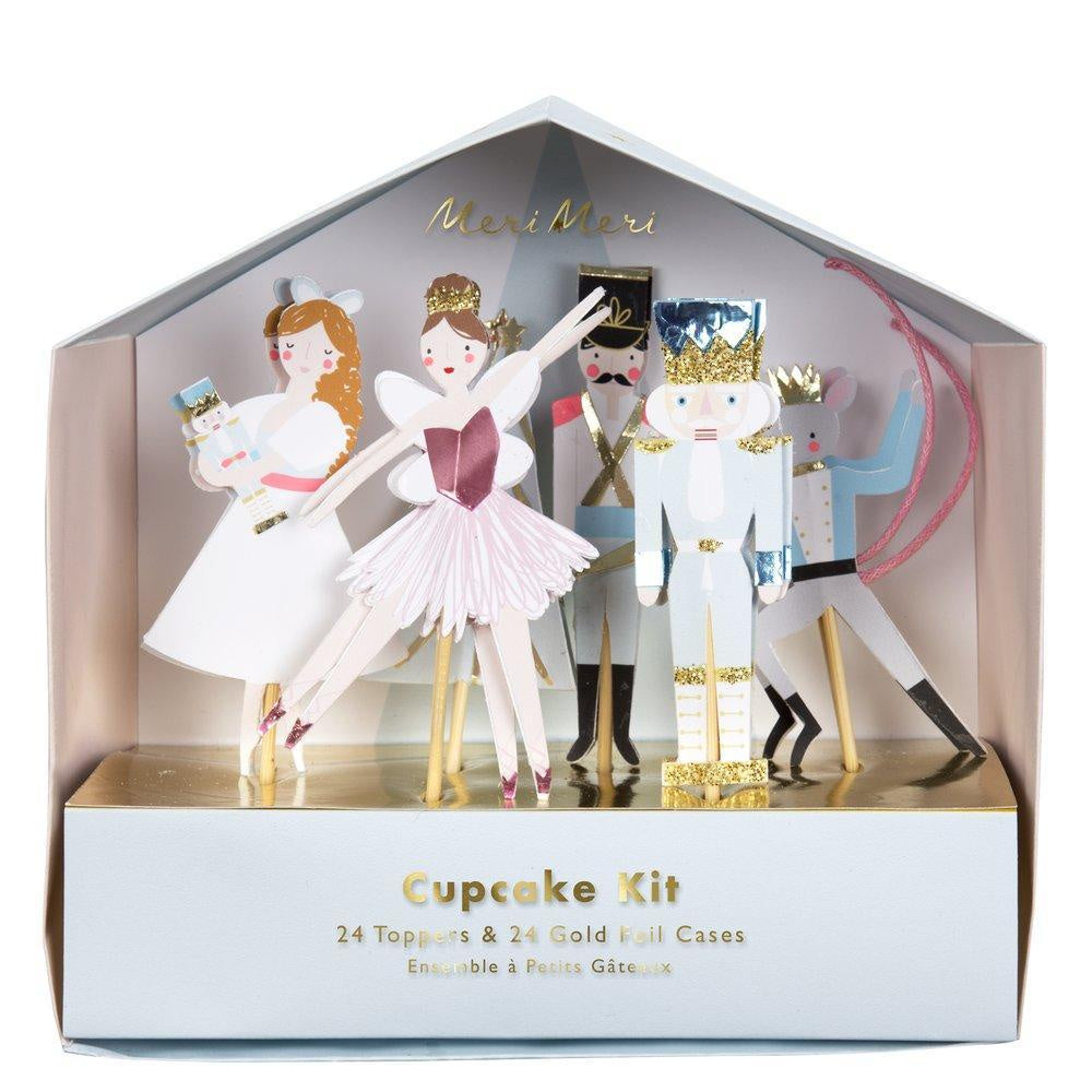 Nutcracker Cupcake Kit-Outliving-Bristle by Melissa Simmonds