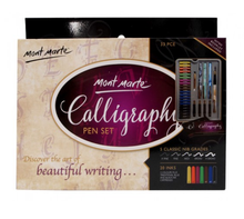 Load image into Gallery viewer, Calligraphy Set 33pce-Mont Marte-Bristle by Melissa Simmonds