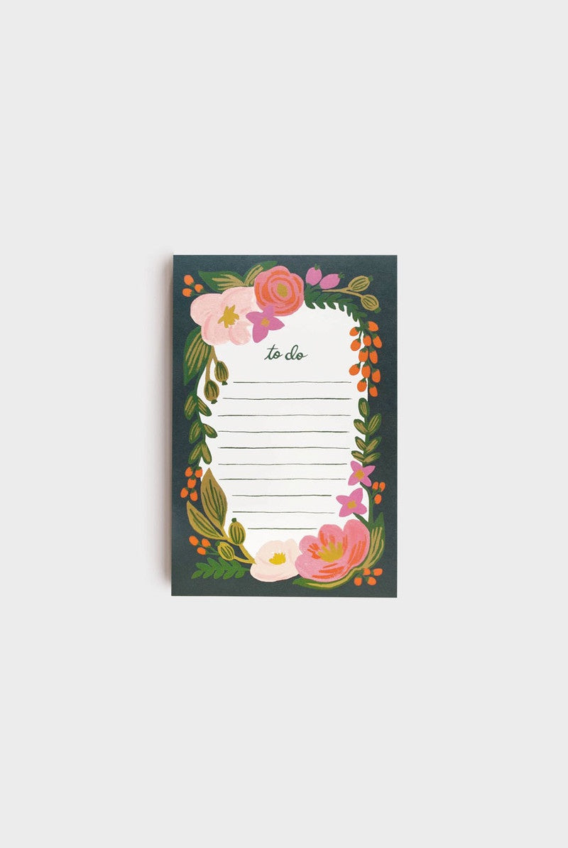 Rifle Paper Co Notepad - Rosalie