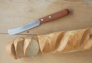 Pearwood Breakfast Knife-Heaven In Earth-Bristle by Melissa Simmonds
