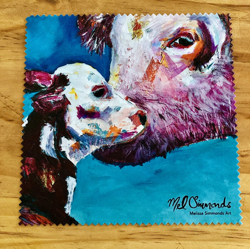 Microfibre Cleaning Cloth by Melissa Simmonds-Not specified-Bristle by Melissa Simmonds