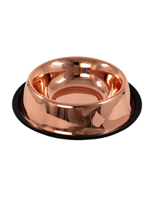 Fancy Beast Copper Dog Bowl