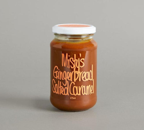 Misty's Salted Caramel - Gingerbread-Misty's Salted Caramel Pty Ltd-Bristle by Melissa Simmonds