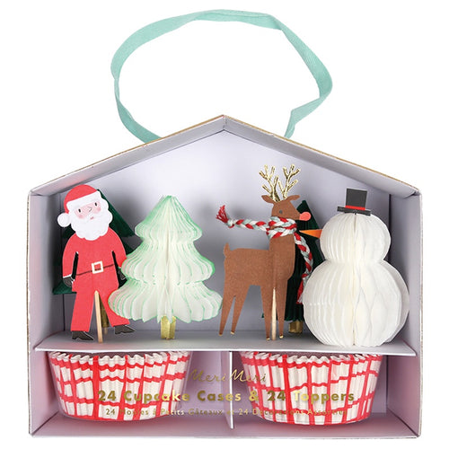 Santa and Reindeer Cupcake Kit-Not specified-Bristle by Melissa Simmonds