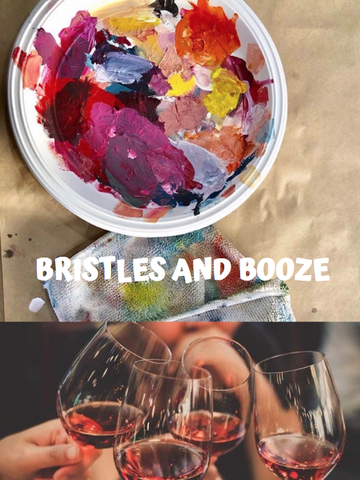 Bristles and Booze Workshop