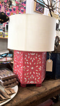 Load image into Gallery viewer, Bone Inlay Lamp (with shade)-Home Decor-Ruby Star Traders-Bristle by Melissa Simmonds