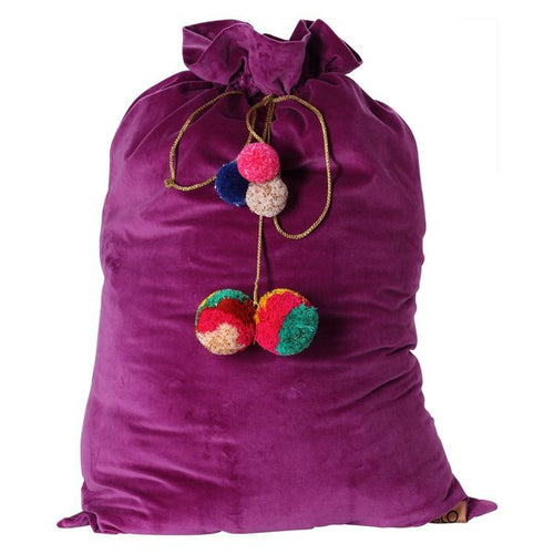 KIDS KIP & CO VELVET TOY SACK-Kip & Co-Bristle by Melissa Simmonds