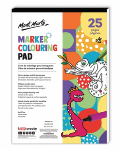 Marker Colouring Pad A4 (8.3 x 11.7in)