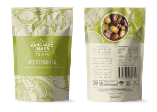 Mediterranean Mixed Olives-Kangaroo Island-Bristle by Melissa Simmonds