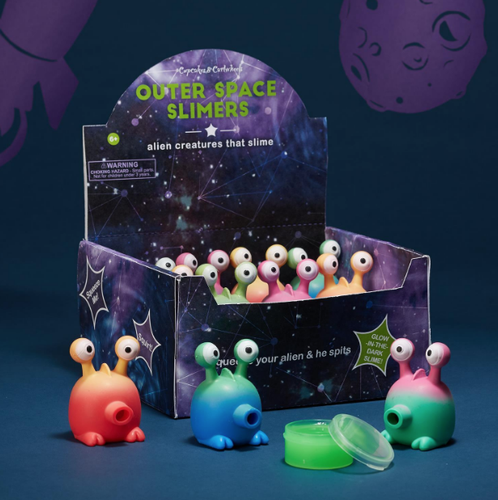 Alien Spitting Slime-Novelty-Outliving-Bristle by Melissa Simmonds