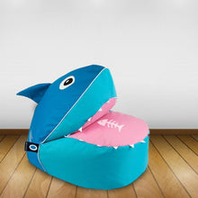 Load image into Gallery viewer, Shark Bean Bag Lounge-Sunnylife-Bristle by Melissa Simmonds