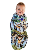 Load image into Gallery viewer, HANGING WILD BABY SWADDLE