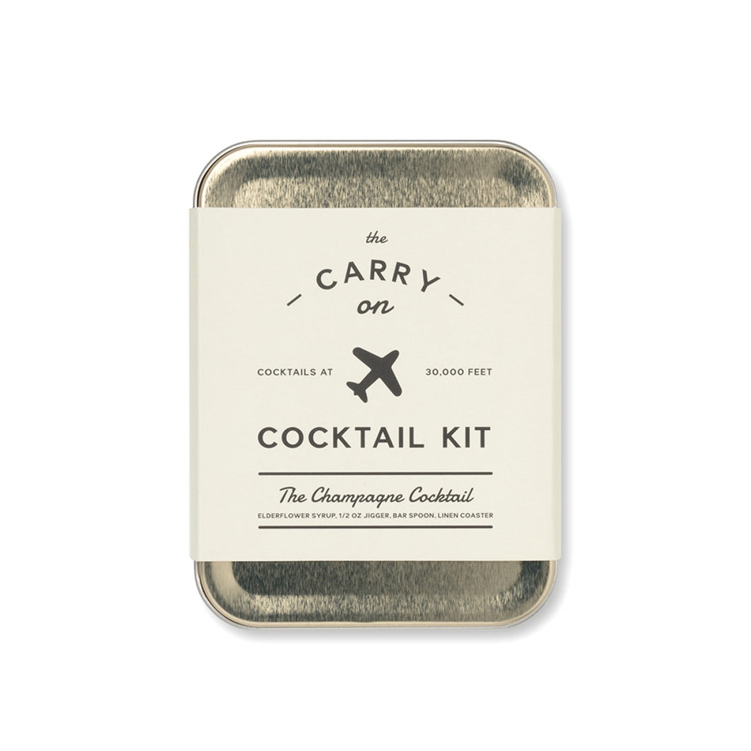 The Carry On Cocktail Kit - The Champagne Cocktail