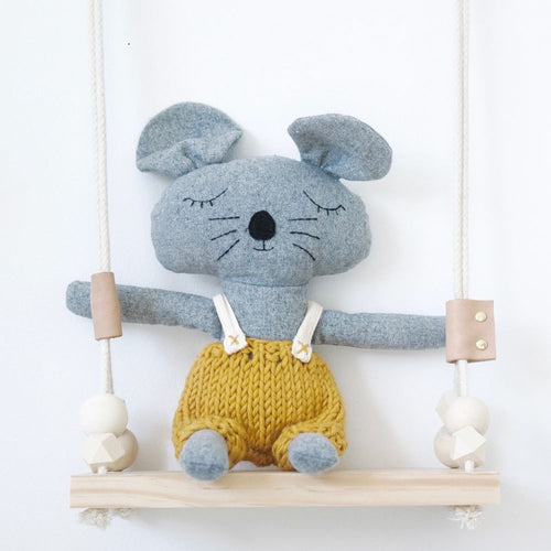 Charlie Mouse-And The Little Dog Laughed-Bristle by Melissa Simmonds