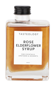Tasteology Rose Elderflower Syrup