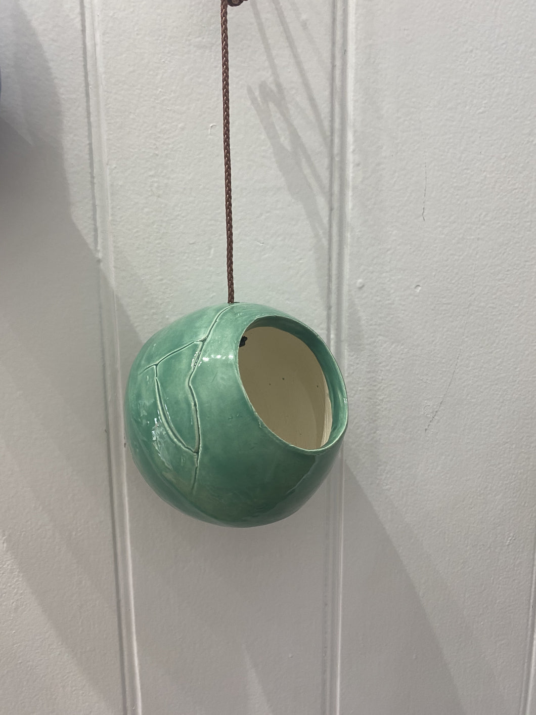 Pottery Hanging Pot XS-Home Decor-BGPottery-Bristle by Melissa Simmonds