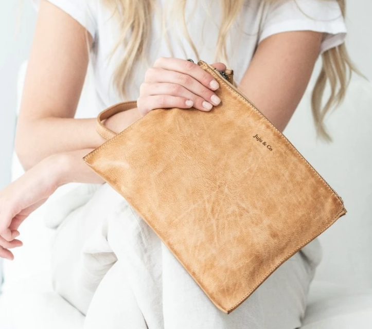 Large Flat Pouch Natural