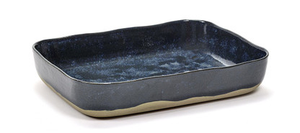 Merci Oven Dish - Blue/Grey-Telegram Co-Bristle by Melissa Simmonds