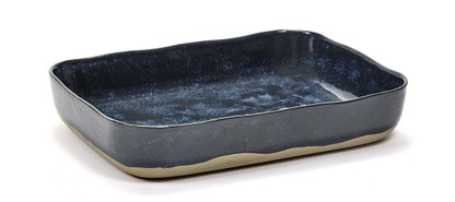 Merci Oven Dish - Blue/Grey
