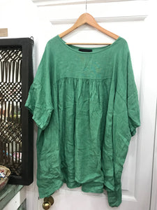 Porsha Tunic Dress - Emerald